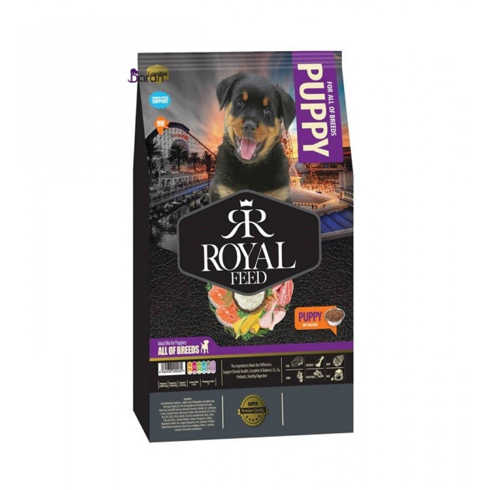 غذای توله سگ رویال فید (3 کیلوگرم) در پت شاپ زعفرانیه