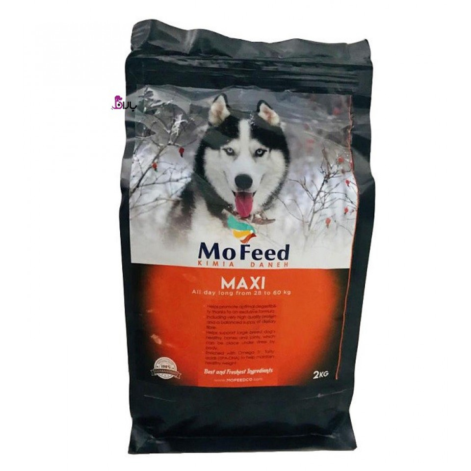 غذای مفید ماکسی مخصوص سگ بالغ نژاد بزرگ (2 کیلوگرم)