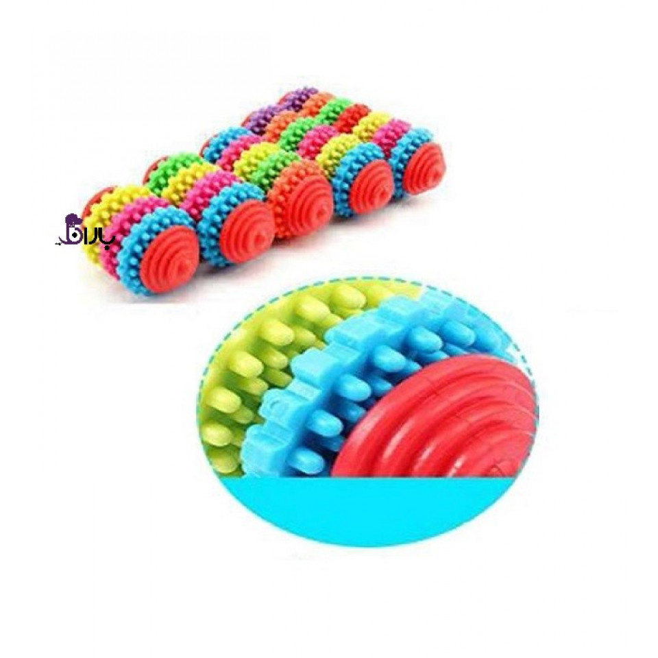 اسباب بازی دندانی لاتکس طرح چرخ دنده کوچک