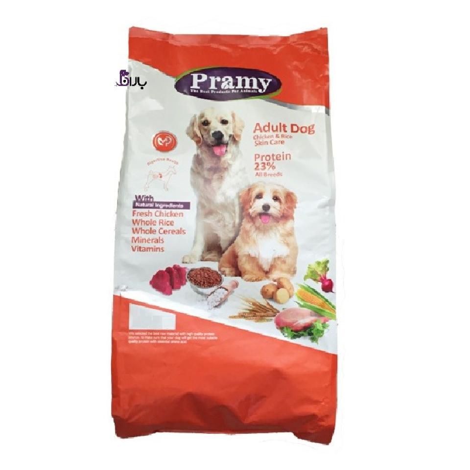 غذای سگ بالغ پرامی با طعم مرغ (1/5 کیلوگرم)