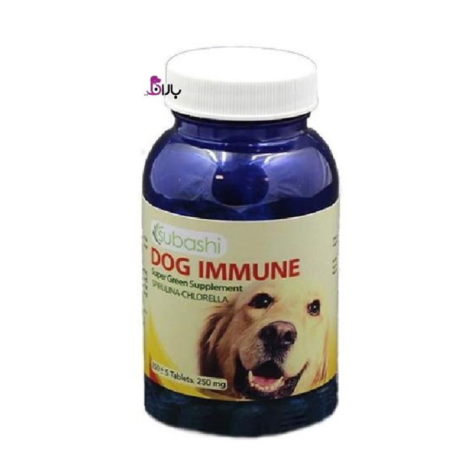 قرص مکمل  سوباشی جهت افزایش سیستم ایمنی سگ