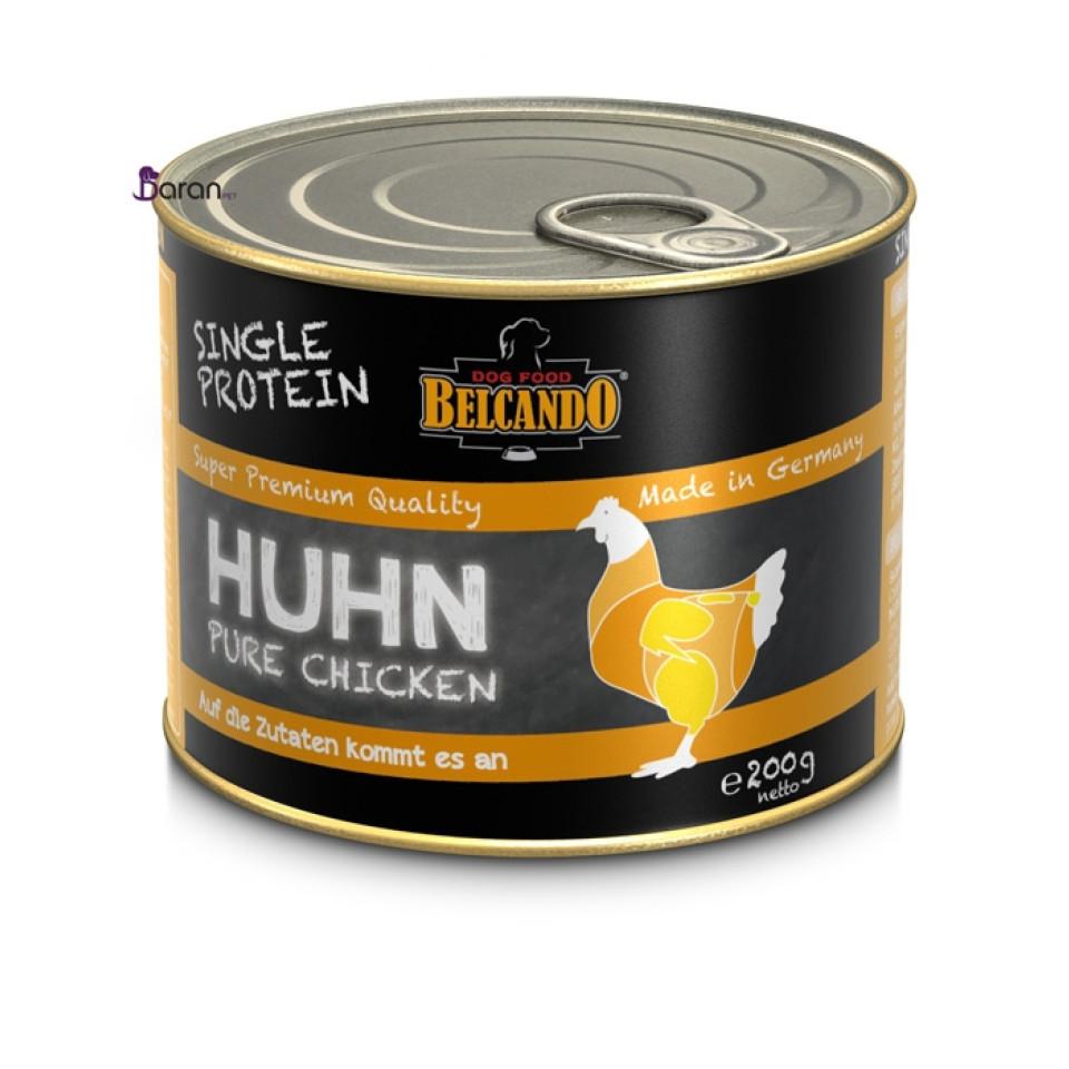 کنسرو سگ بلکاندو حاوی گوشت خالص مرغ :: Belcando Single Protein Chicken