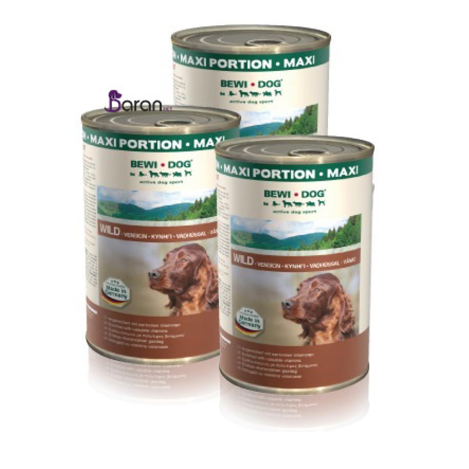 کنسرو سگ بوی داگ حاوی گوشت تکهای شکار (1/2 کیلوگرم)