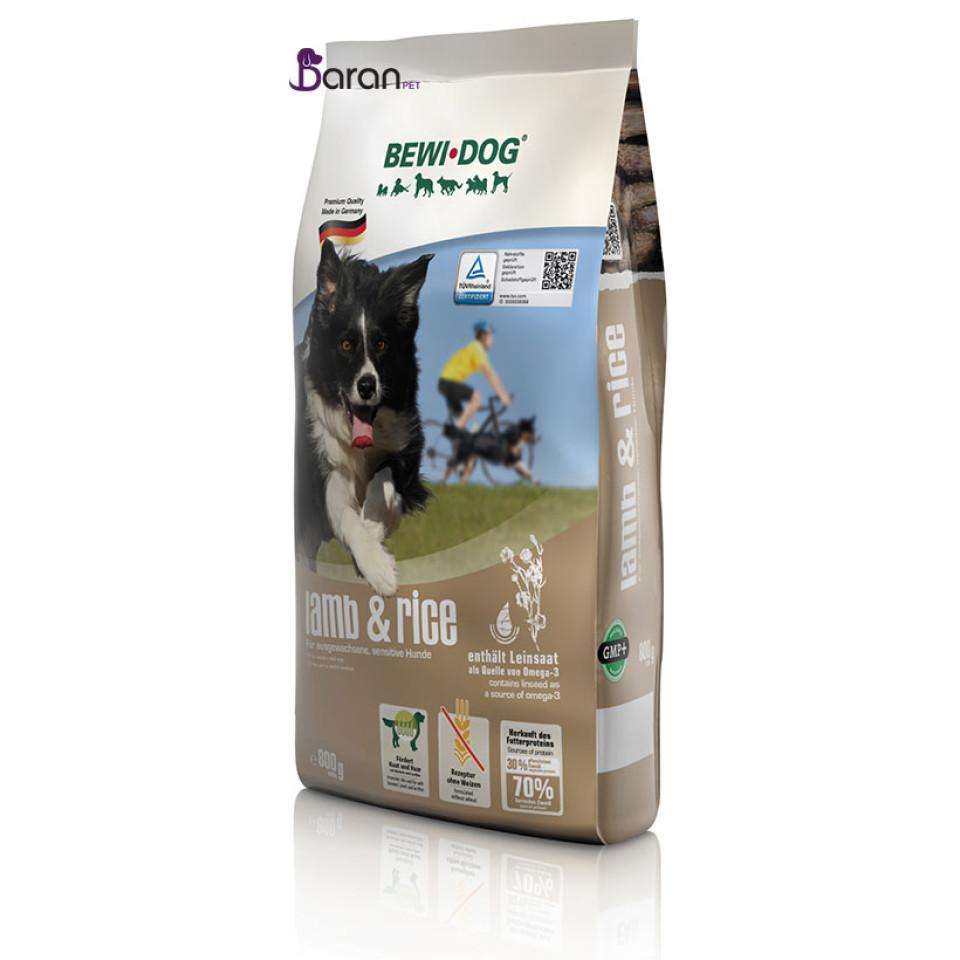 غذای سگ بداشتها بوی داگ حاوی گوشت بره و برنج