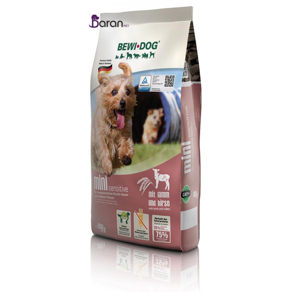 غذای سگ نژاد کوچک و متوسط بد اشتها بوی داگ