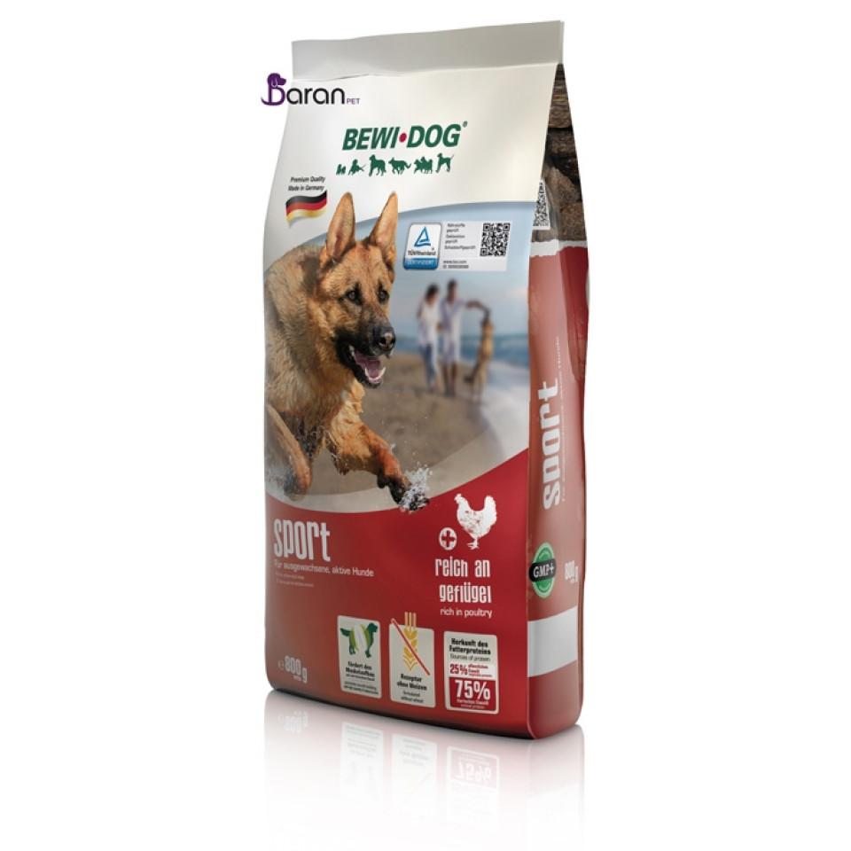 غذای سگ با فعالیت زیاد بوی داگ اسپورت :: Bewi Dog Sport