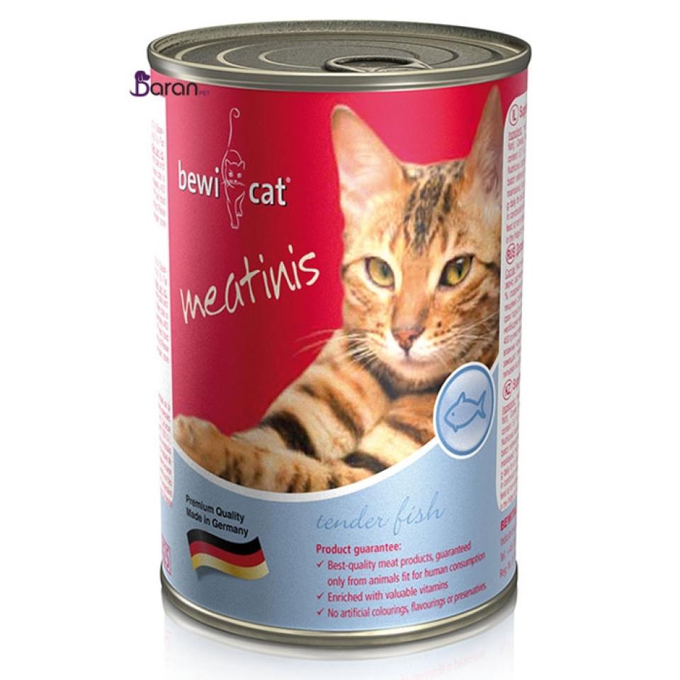 کنسرو گربه بوی کت گوشت ماهی پت خرید bewi cat