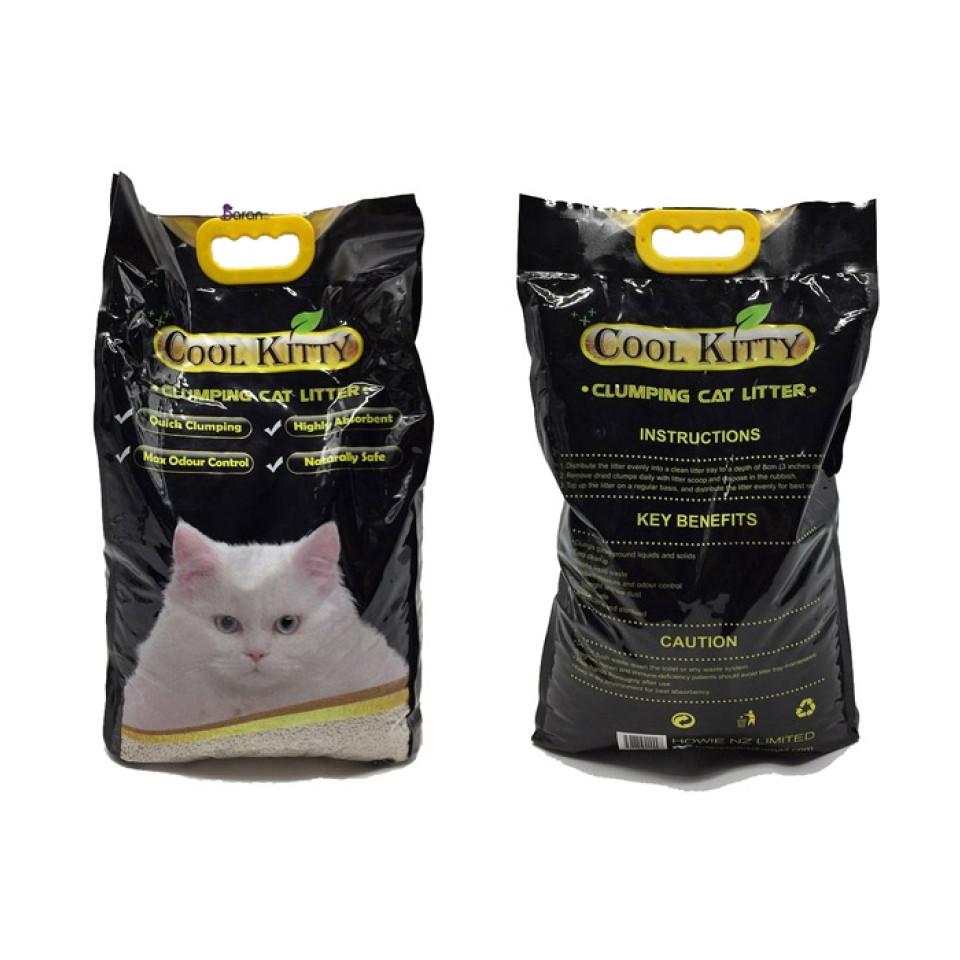 خاک بستر گربه کول کیتی با رایحه هلو (10 لیتر)
