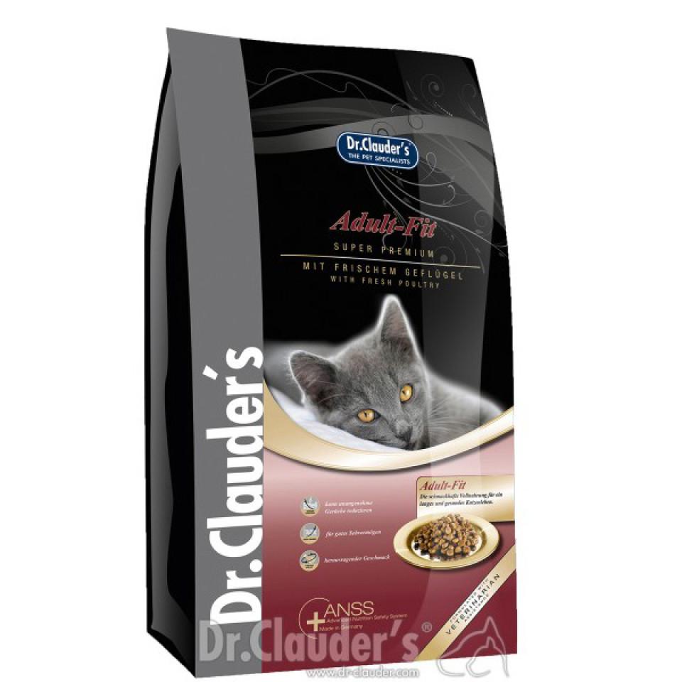 غذای خشک گربه دکتر کلادرز مخصوص گربه بالغ حاوی گوشت مرغ :: Dr.Clauder's Adult Fit