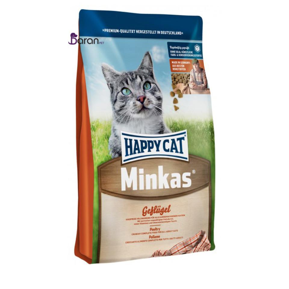 غذای خشک گربه هپی کت مینکاس مرغ (4 کیلوگرم)