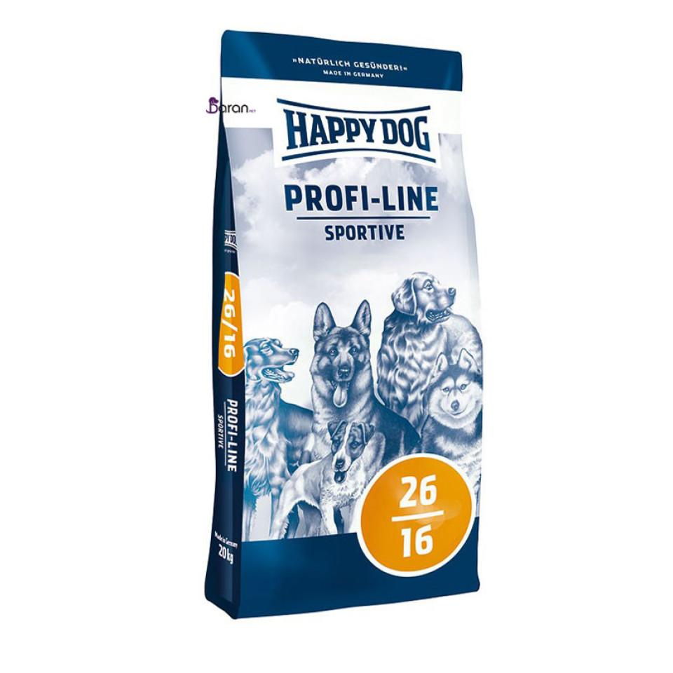 غذای سگ بالغ نژاد بزرگ و متوسط با فعالیت بالا هپی داگ (20 کیلوگرم)