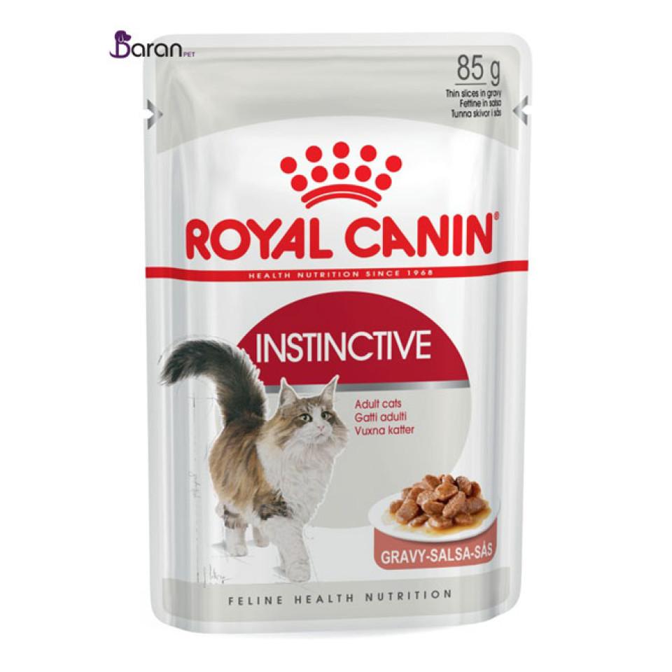 پوچ رویال کنین گربه بالغ بالای 12 ماه در گوشت