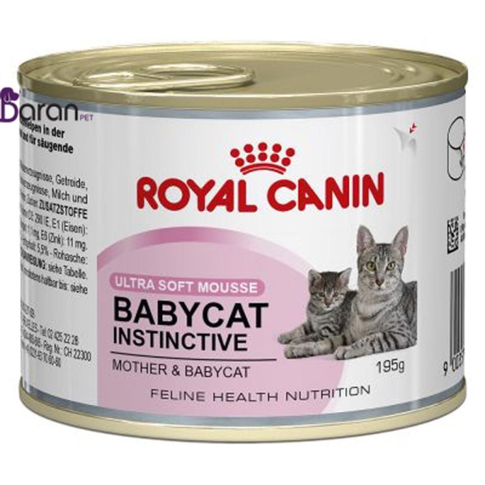 کنسرو رویال کنین مخصوص بچه گربه 1 تا 4 ماه و مادر