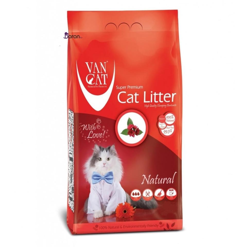 خاک گربه وان کت اولتراکلامپینگ بدون رایحه حاوی مواد آنتی باکتریال