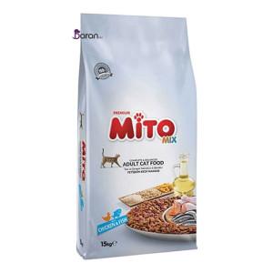 غذای گربه میتو میکس (۱۵ کیلوگرم)
