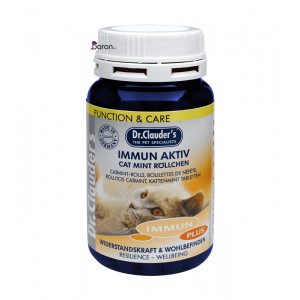قرص مولتی ویتامین ایمیون اکتیو دکتر کلادرز مخصوص تقویت سیستم ایمنی گربه