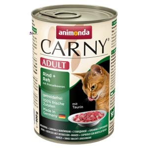 کنسرو گربه کارنی حاوی گوشت گاو، گوزن و میوه کرانبری (۴۰۰ گرم)