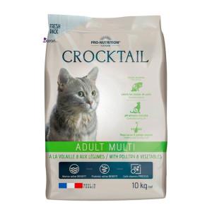 غذای گربه فلاتازور حاوی مرغ و سبزیجات (۱۰ کیلوگرم)