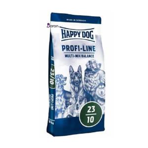 غذای هپی داگ مولتی میکس مخصوص سگ فعالیت نسبتا بالا (۲۰ کیلو)