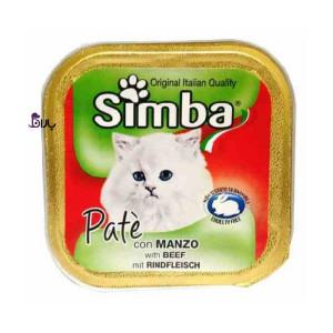 خوراک گربه گوشت سیمبا (۱۰۰ گرم)