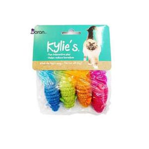 اسباب بازی گربه موش رنگی ۴ تایی کایلی