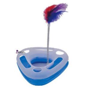 اسباب بازی گربه یونیک طرح سه گوش پلاستيکی