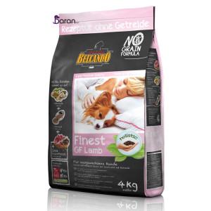 غذای سگ بلکاندو بدون غلات حاوی گوشت بره (۴ کیلوگرم)