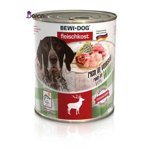 کنسرو سگ بوی داگ وینسون حاوی گوشت گوزن (۸۰۰ گرم)