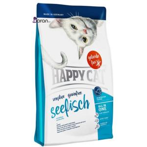 غذای گربه بدغذا هپی کت حاوی ماهی دریا (۴ کیلوگرم)