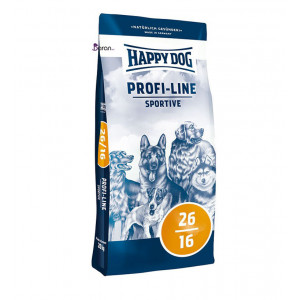 غذای سگ هپی داگ اسپورتیو مخصوص سگ با فعالیت بالا (۲۰ کیلوگرم)