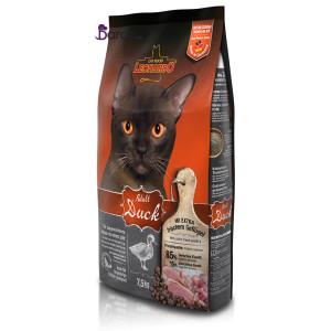 غذای گربه بالغ لئوناردو حاوی اردک (۷/۵ کیلوگرم)