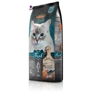 غذای گربه بالغ لئوناردو حاوی ماهی (۱۵ کیلوگرم)