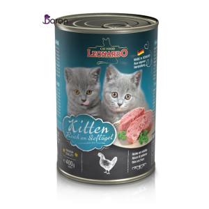 کنسرو بچه گربه لئوناردو (۴۰۰ گرم)