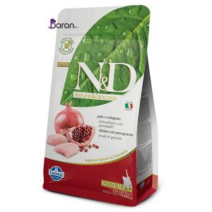 غذای ان اند دی کیتن حاوی مرغ و انار (۱/۵ کیلوگرم)
